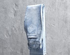 3D model VR / AR ready Blue Jeans