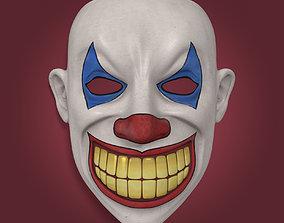 3D asset Clown Mask