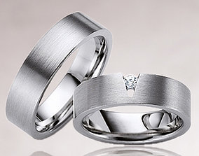 Wedding rings 190 3D printable model