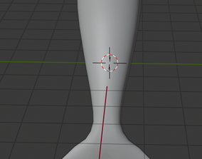 Mermaid Tail 3D asset