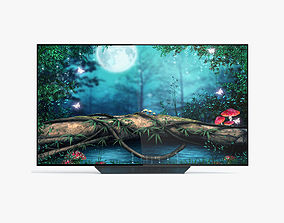 3D model LG OLED65B8PUA OLED Smart TV