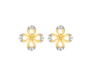 Women earrings 3dm render detail jewelry printable
