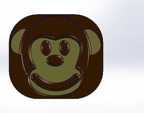3D printable model Monkey Outlet Plug