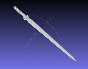 Sword Art Online Asuna ALO Sword Printable Assembly