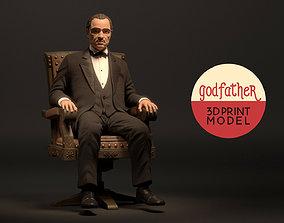 3D print model The Stylize Godfather Firgure
