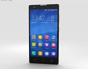Huawei Honor 3C 4G White 3D model