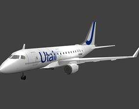 Embraer E170 3D asset