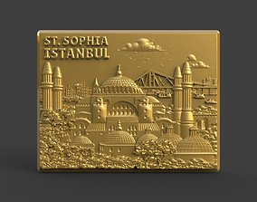 Hagia Sophia 3D printable model