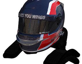3D model Kvyat Helmet
