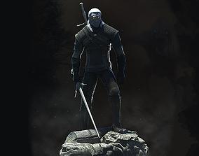 3D print model Geralt the Witcher activity