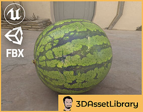 Baby Watermelon 3D Scan for Unreal and VR / AR ready 2
