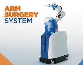Mako Robotic Arm Assisted Surgery Machine 3D asset