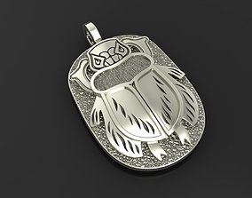 Pendant Beetle scarab 3D printable model