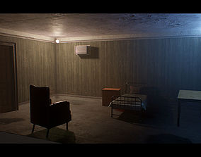 Old Dirty Room 3D model