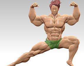 Body Builder Statue N 9 3D print 3D model