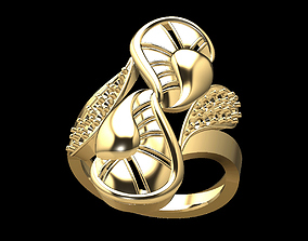 3D print model Gold Ring 210