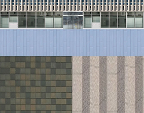 3D asset shinjuku center building