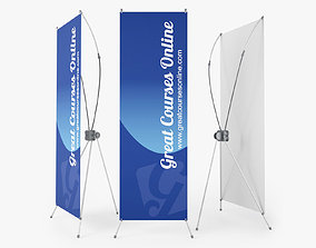3D Banner Stand - Standy