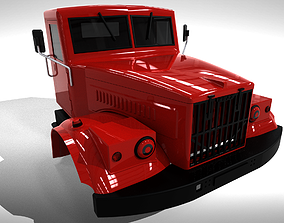 KRAZ 256 vehicle 3D print model