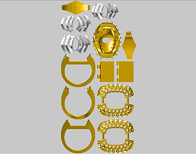 3D printable model Jewellery-Parts-4-vjzp71j3