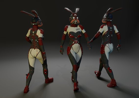 "Sci Fi Suit ""Rabbit"""