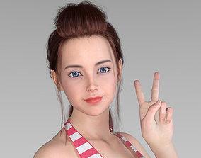 3D model AlannaforGenesis8Female