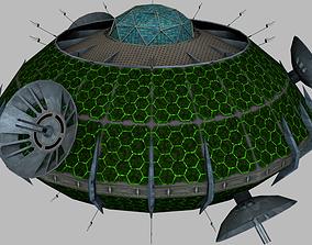 Communication Hub Satellite 3D model