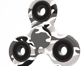 White camo spinner 3D
