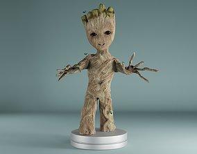 hulk baby groot 3D printable model