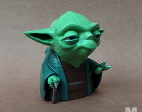 games-toys 3D printable model Yoda Toon