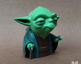 3D printable model Yoda Toon
