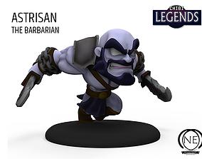 3D print model Astrisan the barbarian