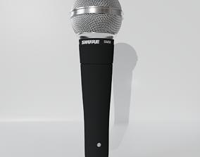 SHURE sm58 audio-device 3D model
