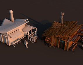 3D model Woodcutter House Rome
