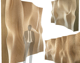 3D Parametric wall 010 abstraction