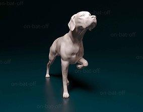 English pointer 3D print model