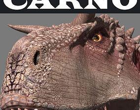 animated Carnotaur Resurrection - dinosaur 3d model