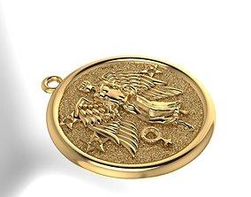 Zodiak Pendant 3D printable model