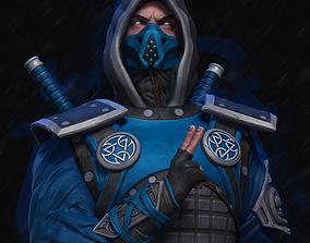 Mortal Kombat Ninja Sub Zero 3D printable model