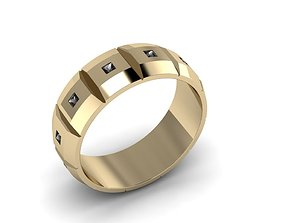 Men Jewelry Ring 013 3D printable model