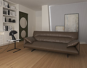 3D model Interior scene catalog sofa