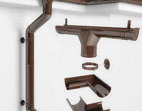 3D model Drain system