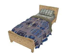 3D asset Bedcloth 77