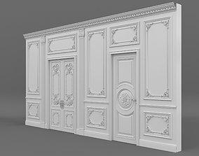 3D model Classic Interior Wall Decoration