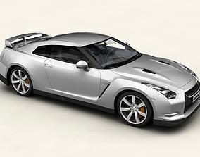 3D Nissan GT-R