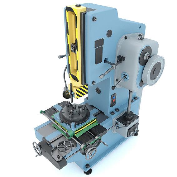 Industrial machine tool - slotting machine 7402