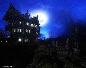 3DRT - Dark forest mansion