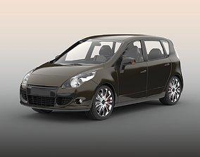 fast Hatchback car 3D