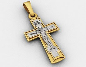 Cross 3D print model jewelry