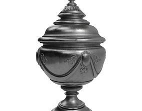 PBR Antic Vase 3D Model With PBR Textures